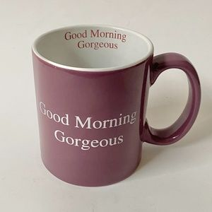 Hausenware Good Morning Gorgeous Large Coffee Cup